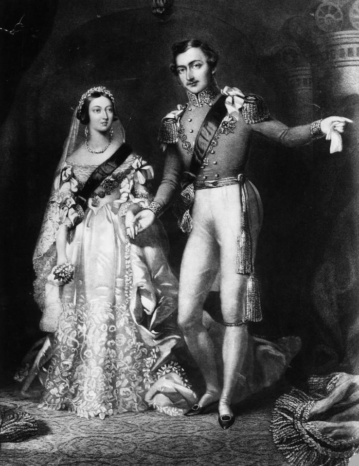 Regina Victoria si Printul Albert