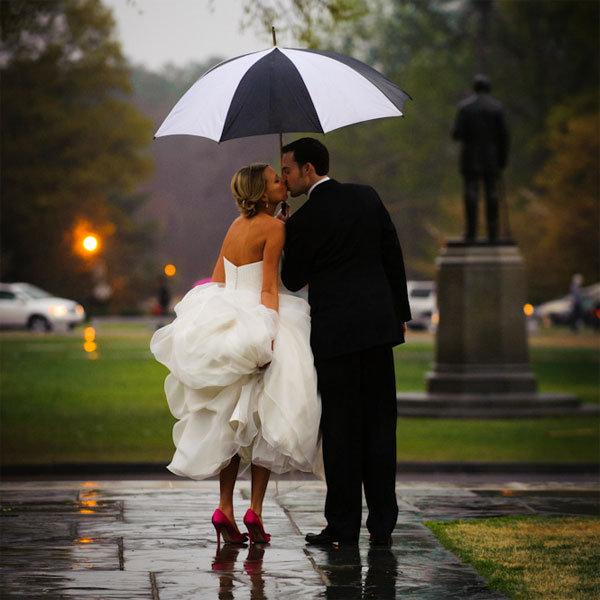 poze nunta pe ploaie